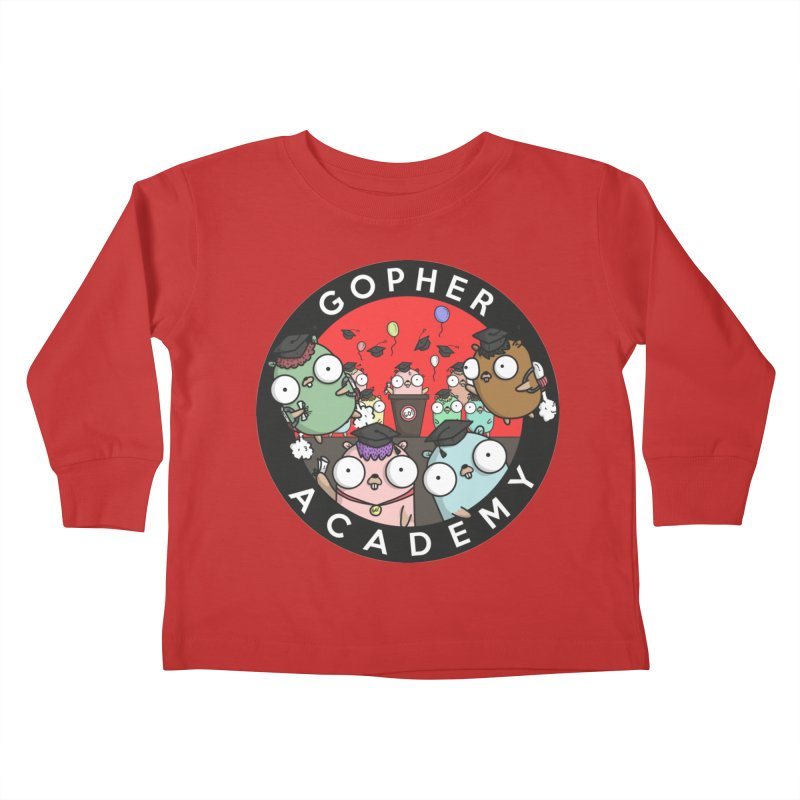 Gopher Academy Kids Toddler Longsleeve T-Shirt by Women Who Go