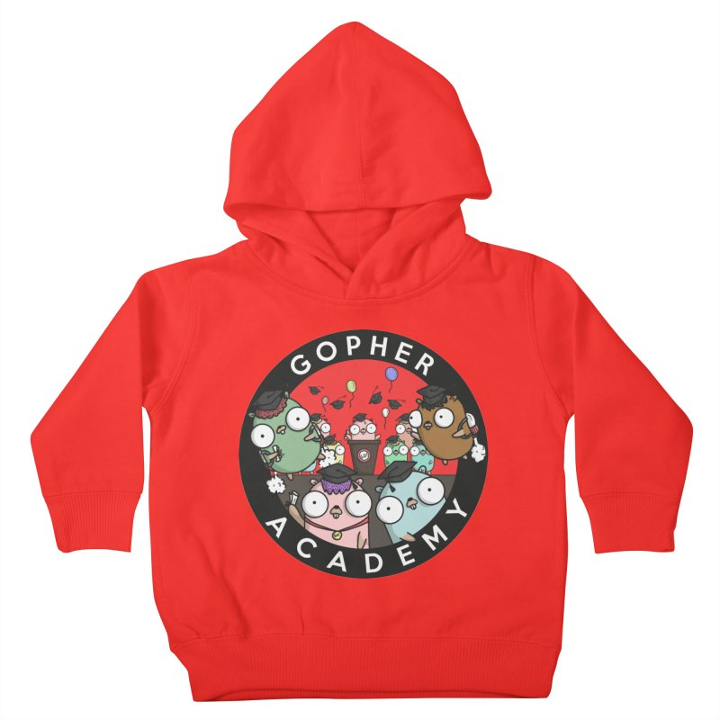 Gopher Academy Kids Toddler Pullover Hoody by Women Who Go