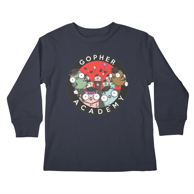 Gopher Academy Kids Longsleeve T-Shirt by Women Who Go