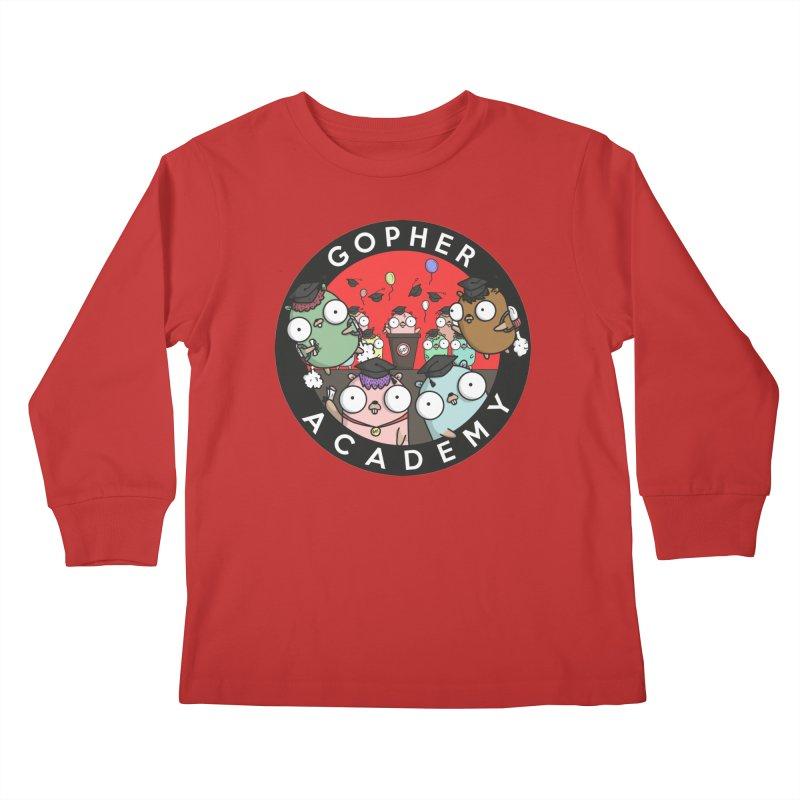 Gopher Academy Kids Longsleeve T-Shirt by Women Who Go