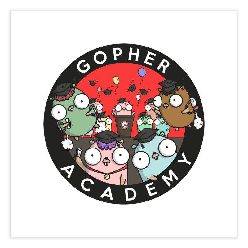 Gopher Academy Home Fine Art Print by Women Who Go