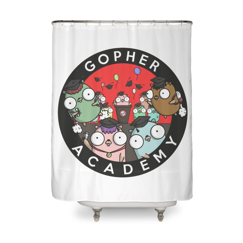 Gopher Academy Home Shower Curtain by Women Who Go