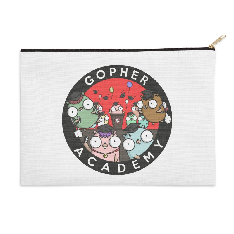 Gopher Academy Accessories Zip Pouch by Women Who Go