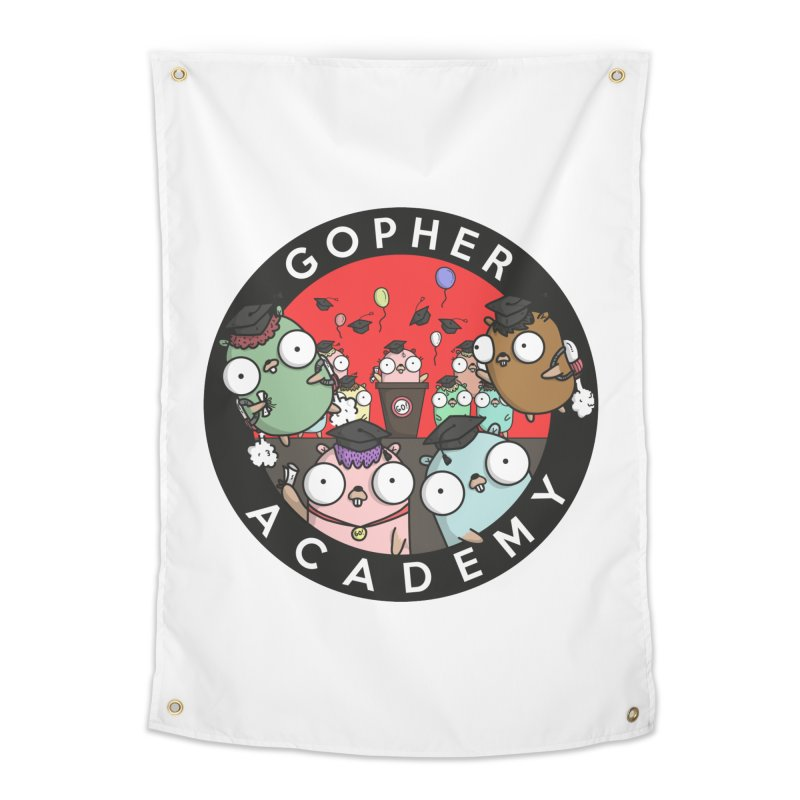 Gopher Academy Home Tapestry by Women Who Go