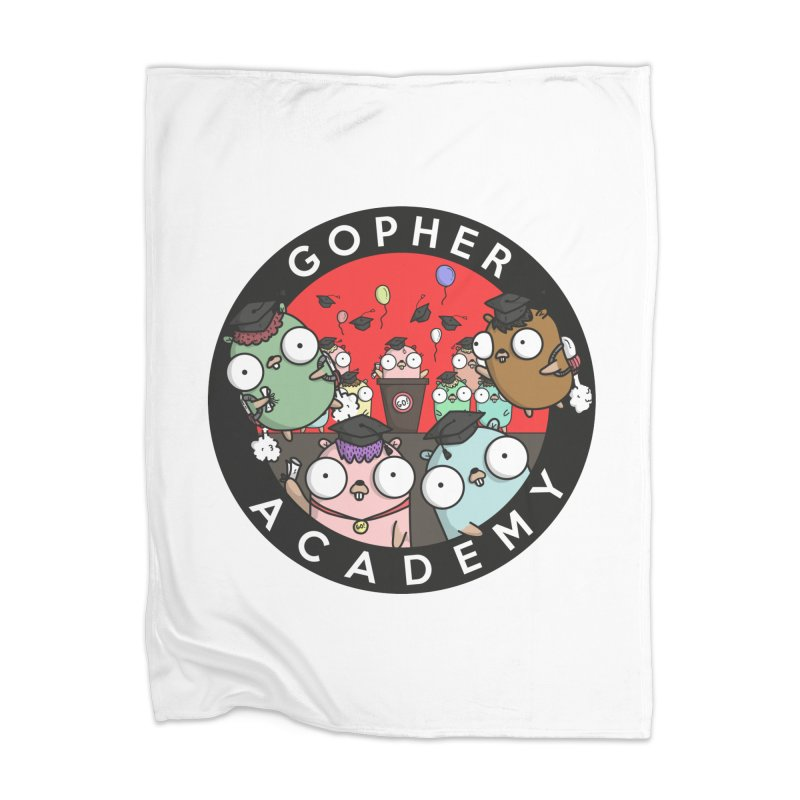 Gopher Academy Home Blanket by Women Who Go