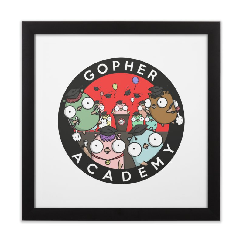 Gopher Academy Home Framed Fine Art Print by Women Who Go