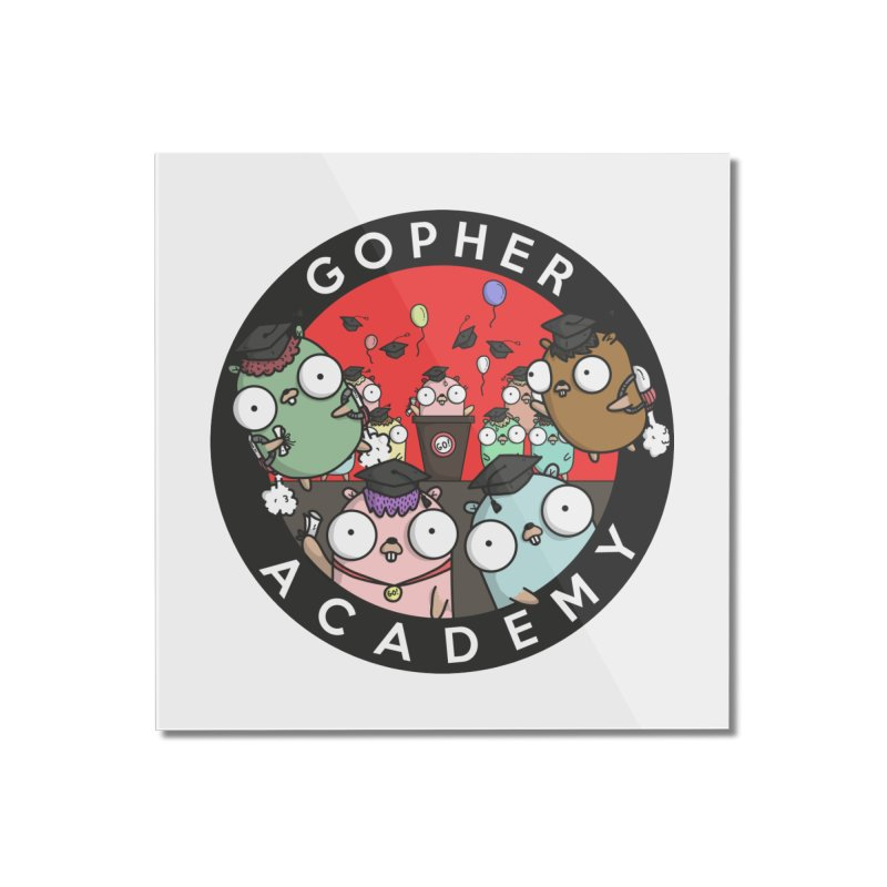 Gopher Academy Home Mounted Acrylic Print by Women Who Go