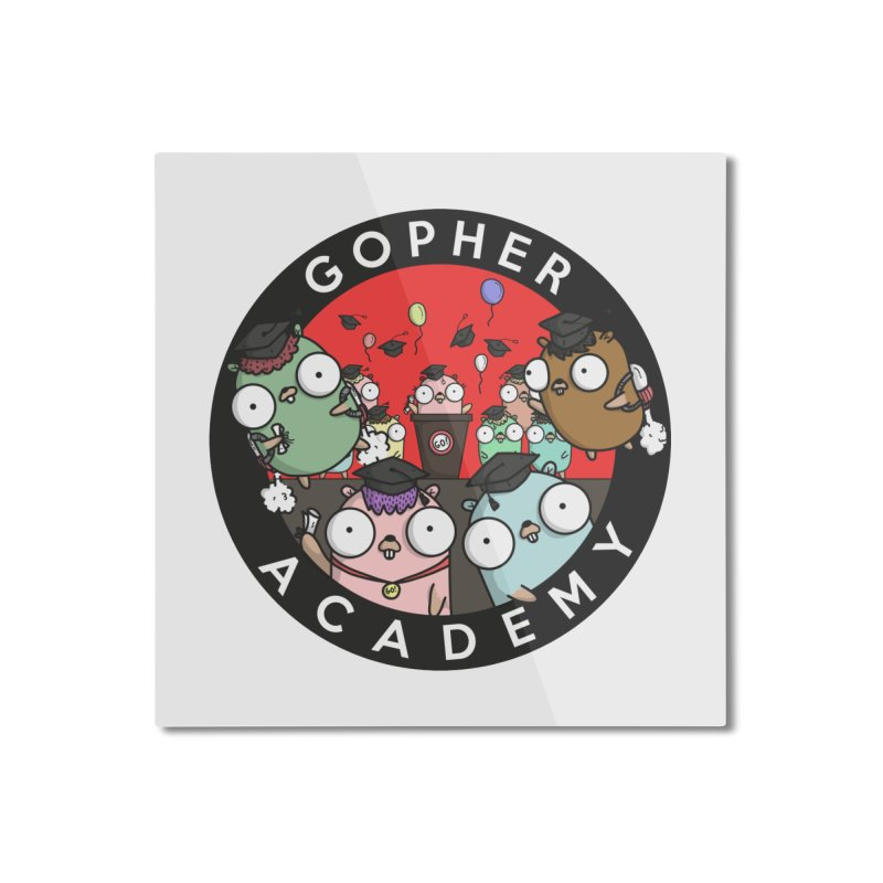Gopher Academy Home Mounted Aluminum Print by Women Who Go