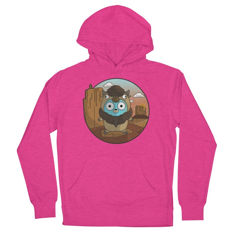 Original GoBuffalo Women's Pullover Hoody by Women Who Go