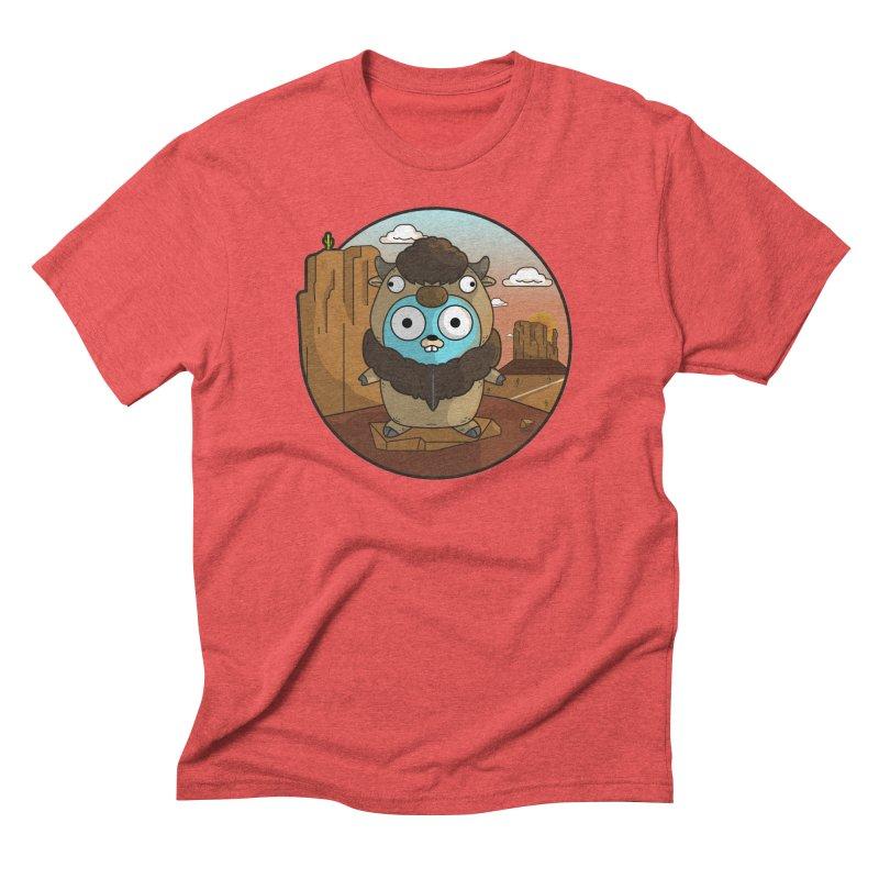 Original GoBuffalo Men's Triblend T-Shirt by Women Who Go