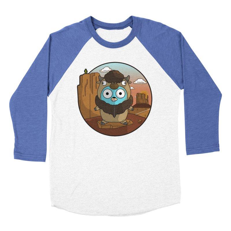 Original GoBuffalo Women's Baseball Triblend Longsleeve T-Shirt by Women Who Go