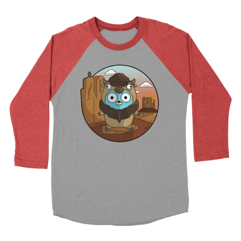 Original GoBuffalo Men's Baseball Triblend Longsleeve T-Shirt by Women Who Go