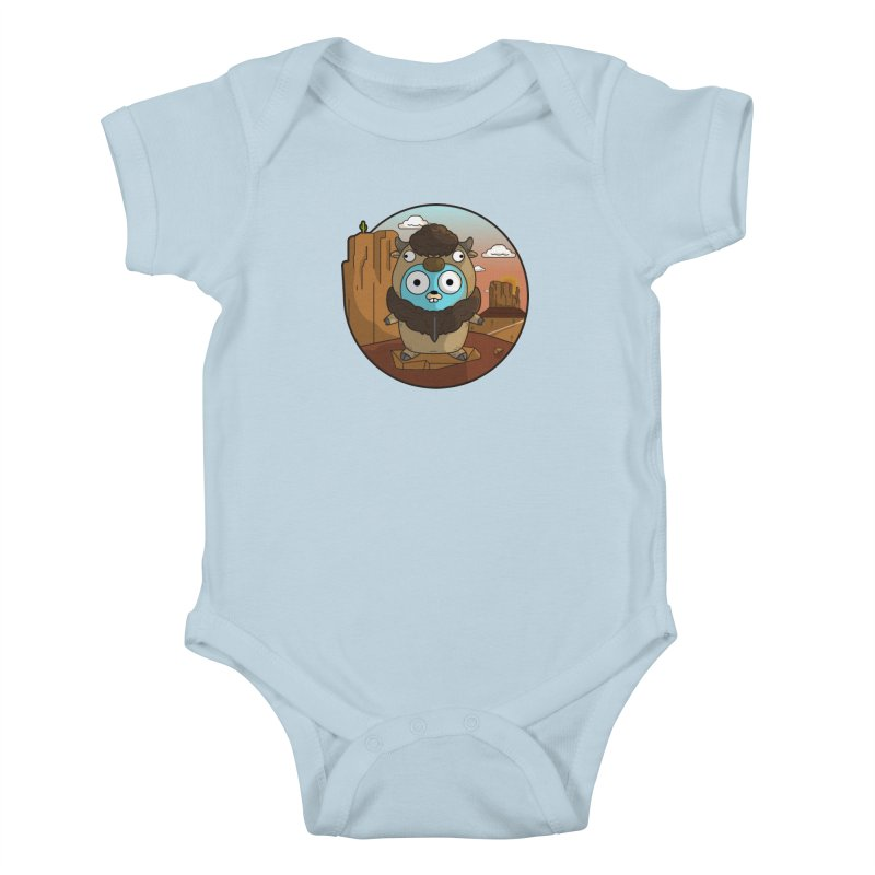 Original GoBuffalo Kids Baby Bodysuit by Women Who Go