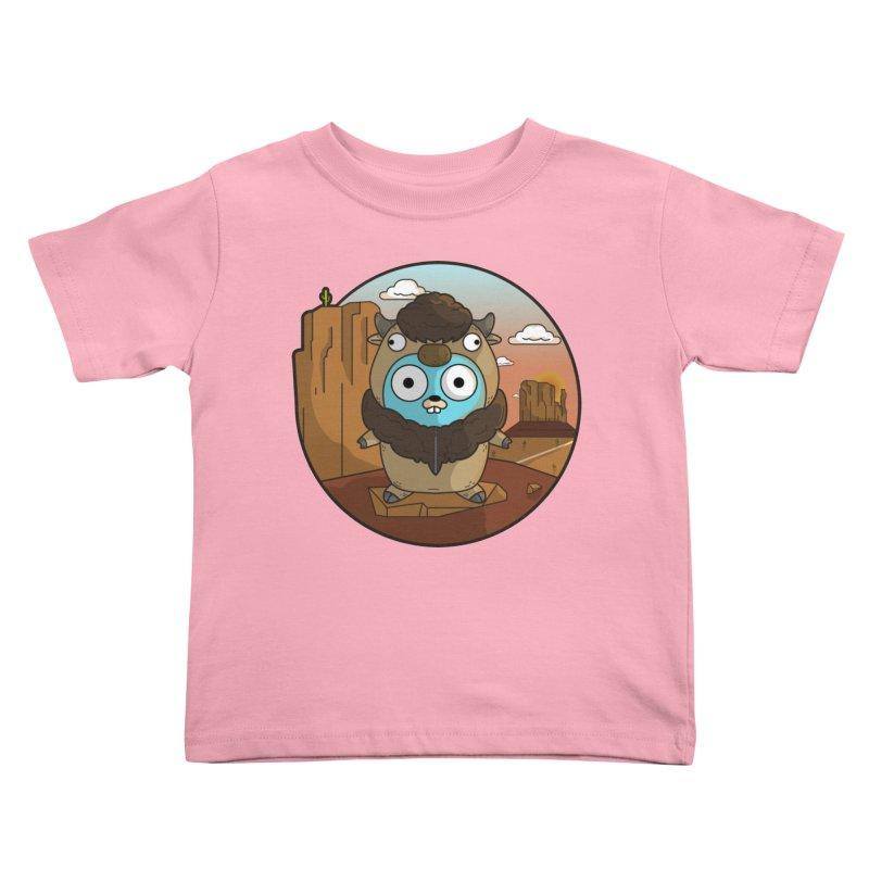 Original GoBuffalo Kids Toddler T-Shirt by Women Who Go