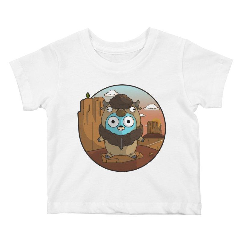 Original GoBuffalo Kids Baby T-Shirt by Women Who Go