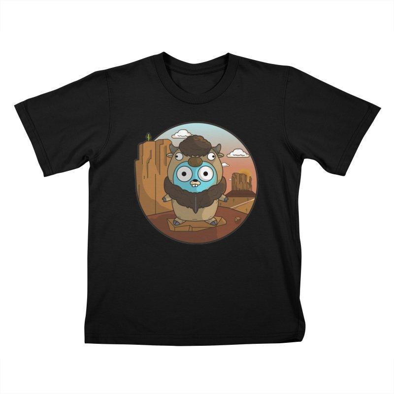 Original GoBuffalo Kids T-Shirt by Women Who Go