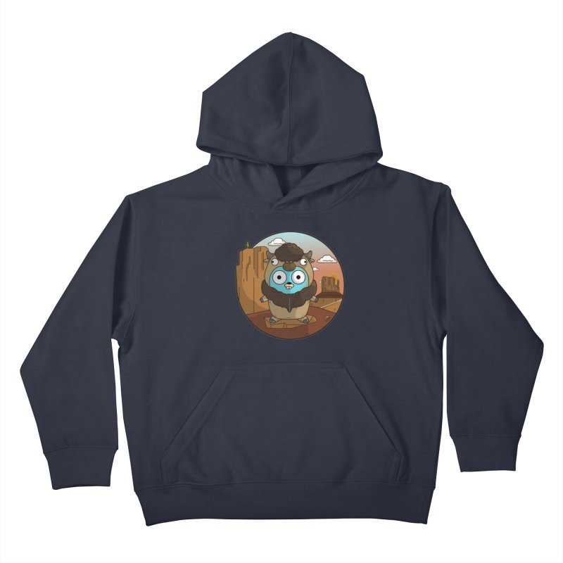 Original GoBuffalo Kids Pullover Hoody by Women Who Go