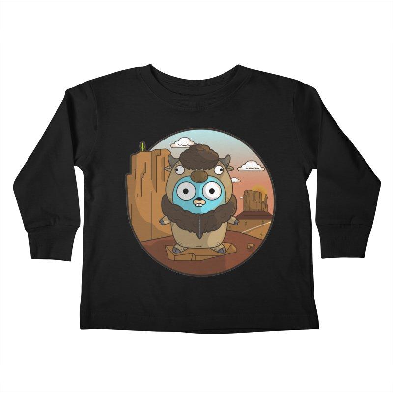 Original GoBuffalo Kids Toddler Longsleeve T-Shirt by Women Who Go