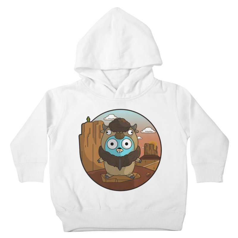 Original GoBuffalo Kids Toddler Pullover Hoody by Women Who Go