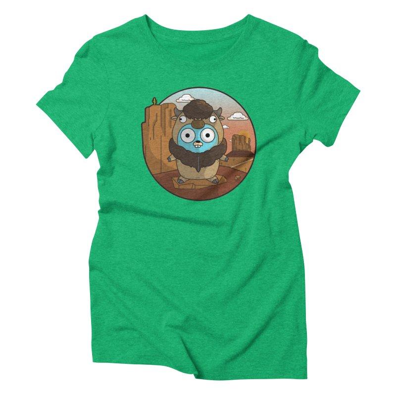 Original GoBuffalo Women's Triblend T-Shirt by Women Who Go