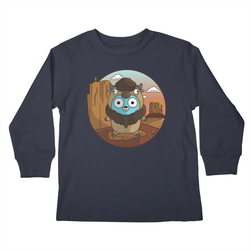 Original GoBuffalo Kids Longsleeve T-Shirt by Women Who Go