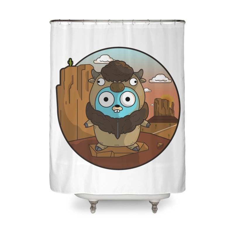 Original GoBuffalo Home Shower Curtain by Women Who Go