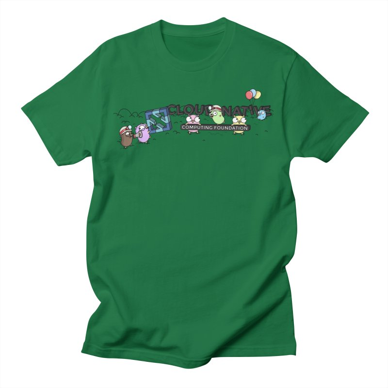 CNCF Gophers Men's T-Shirt by Women Who Go