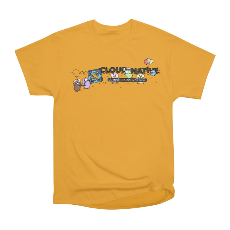CNCF Gophers Men's Heavyweight T-Shirt by Women Who Go