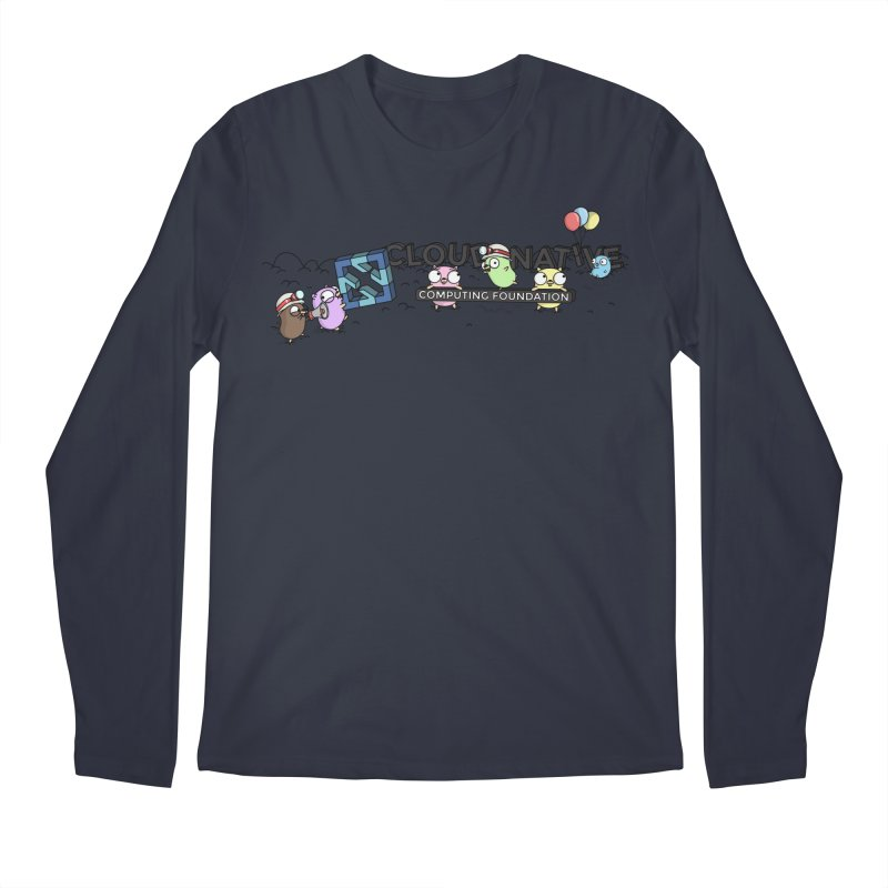 CNCF Gophers Men's Regular Longsleeve T-Shirt by Women Who Go