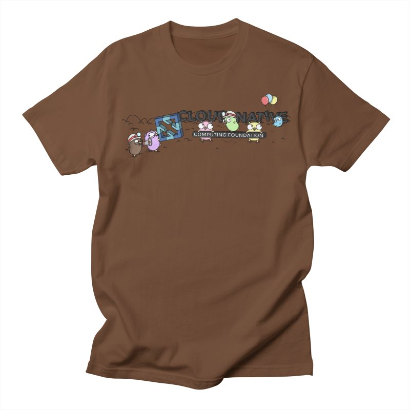 CNCF Gophers Men's Regular T-Shirt by Women Who Go