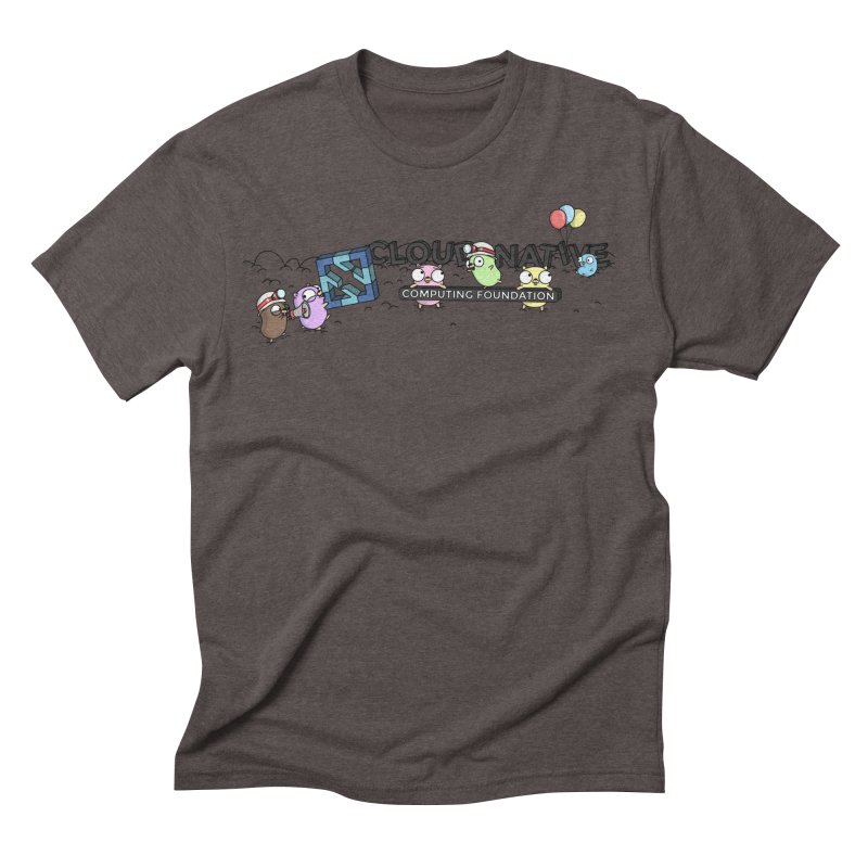 CNCF Gophers Men's Triblend T-Shirt by Women Who Go