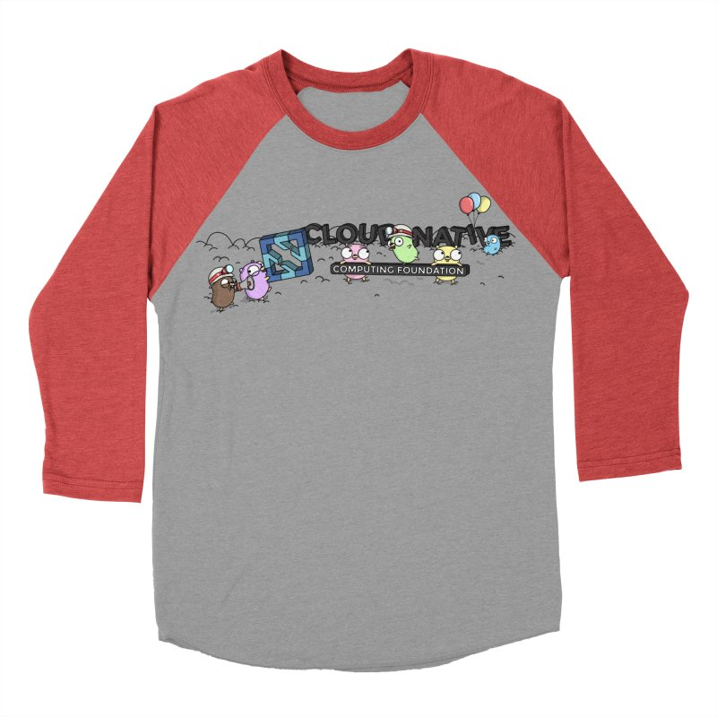 CNCF Gophers Men's Baseball Triblend Longsleeve T-Shirt by Women Who Go