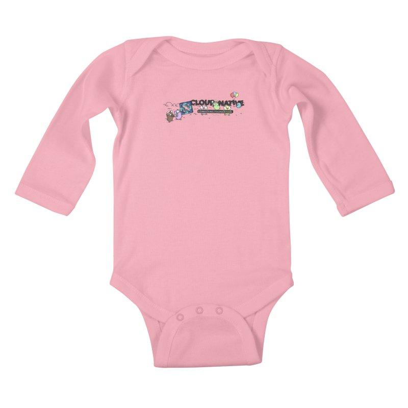 CNCF Gophers Kids Baby Longsleeve Bodysuit by Women Who Go