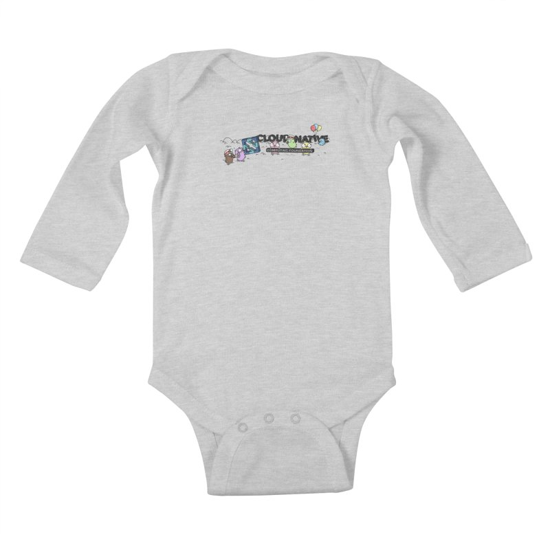 CNCF Gophers Kids Baby Longsleeve Bodysuit by Women Who Go