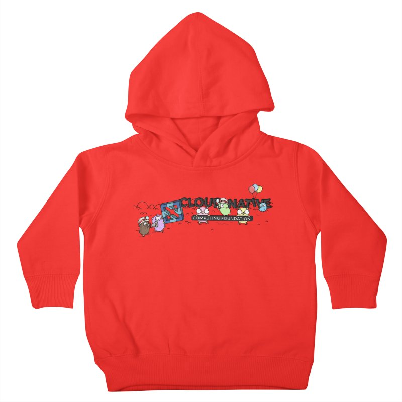 CNCF Gophers Kids Toddler Pullover Hoody by Women Who Go