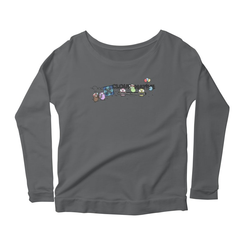 CNCF Gophers Women's Scoop Neck Longsleeve T-Shirt by Women Who Go