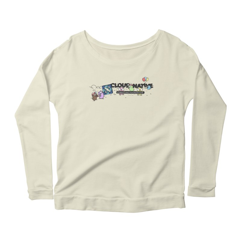 CNCF Gophers Women's Scoop Neck Longsleeve T-Shirt by Women Who Go