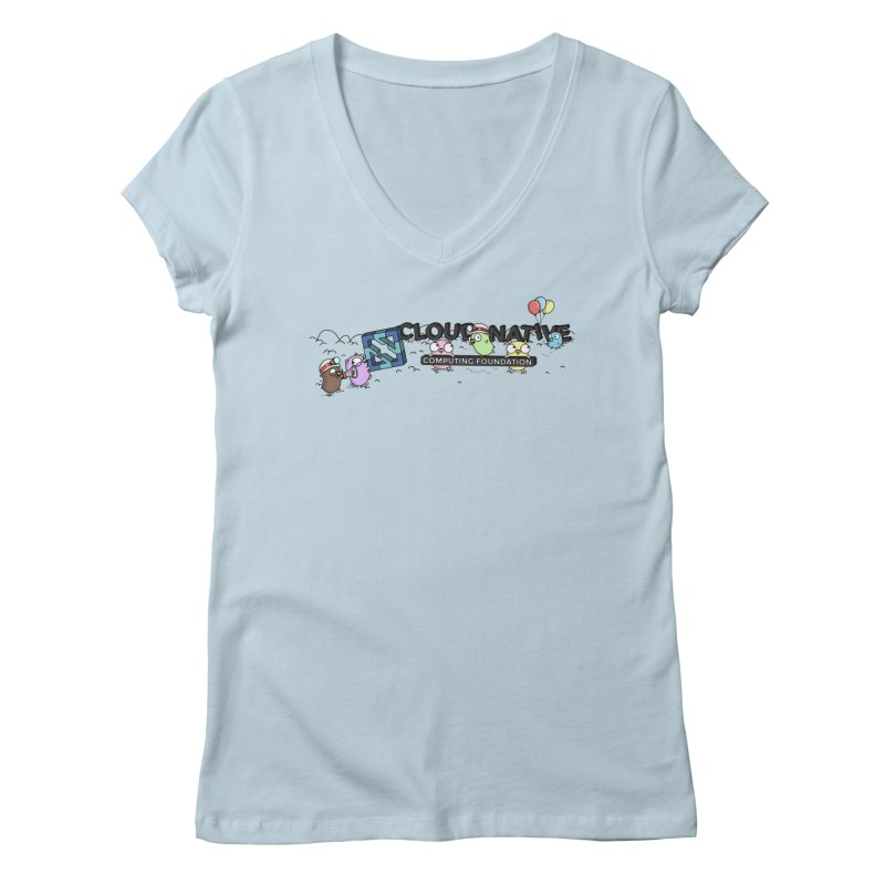 CNCF Gophers Women's V-Neck by Women Who Go