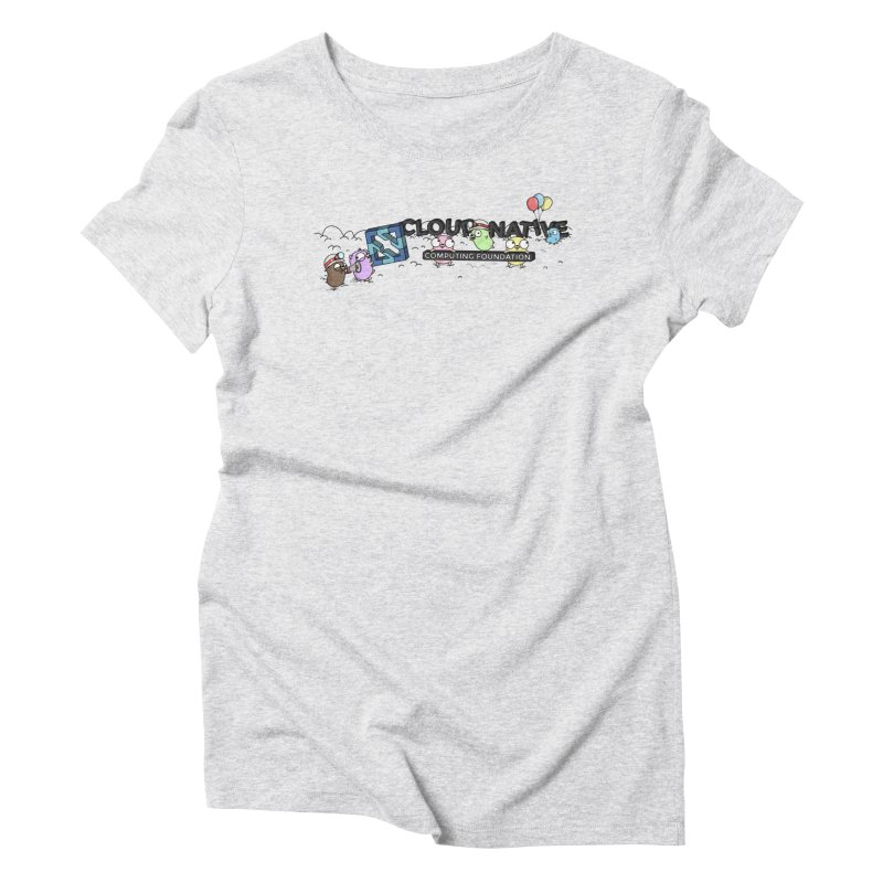 CNCF Gophers Women's Triblend T-Shirt by Women Who Go
