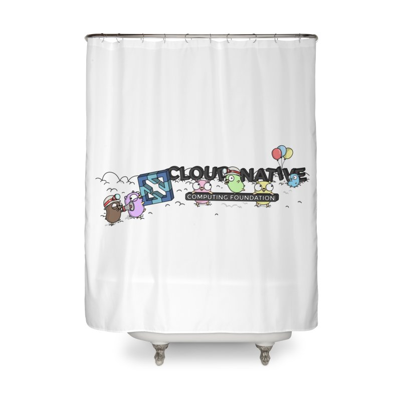 CNCF Gophers Home Shower Curtain by Women Who Go