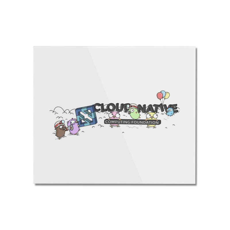 CNCF Gophers Home Mounted Acrylic Print by Women Who Go