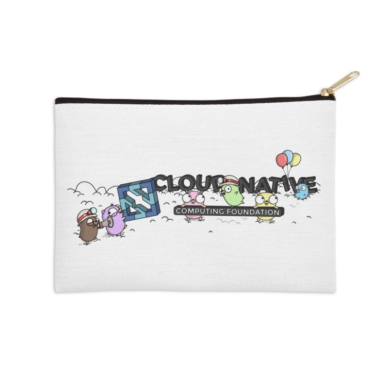 CNCF Gophers Accessories Zip Pouch by Women Who Go
