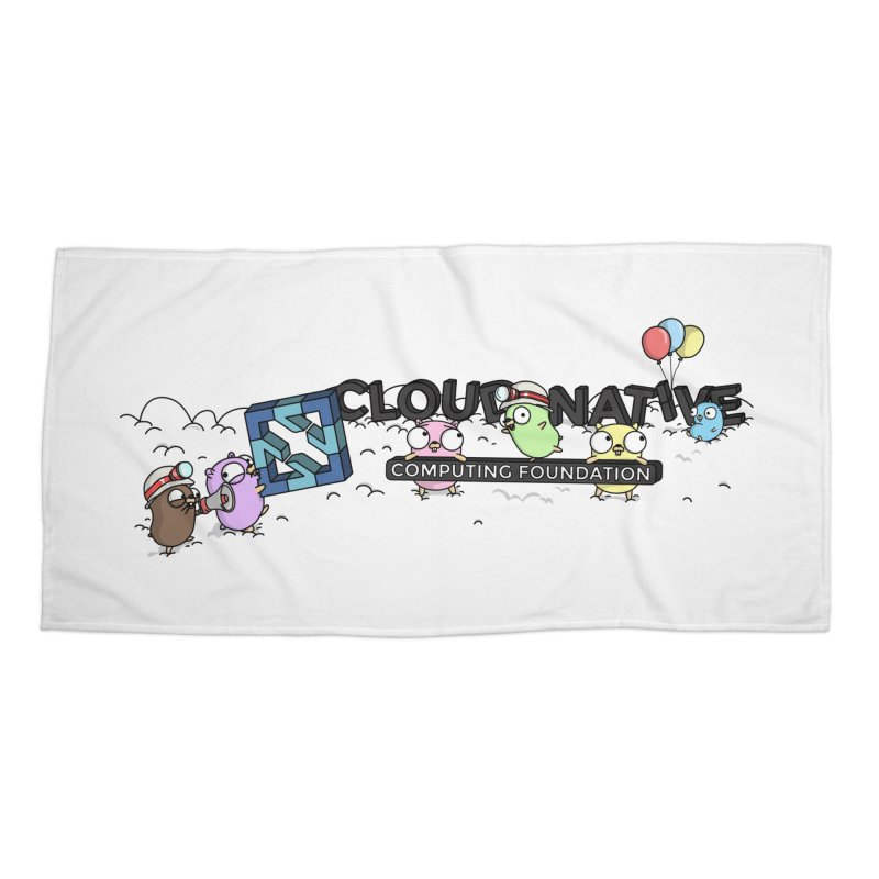CNCF Gophers Accessories Beach Towel by Women Who Go