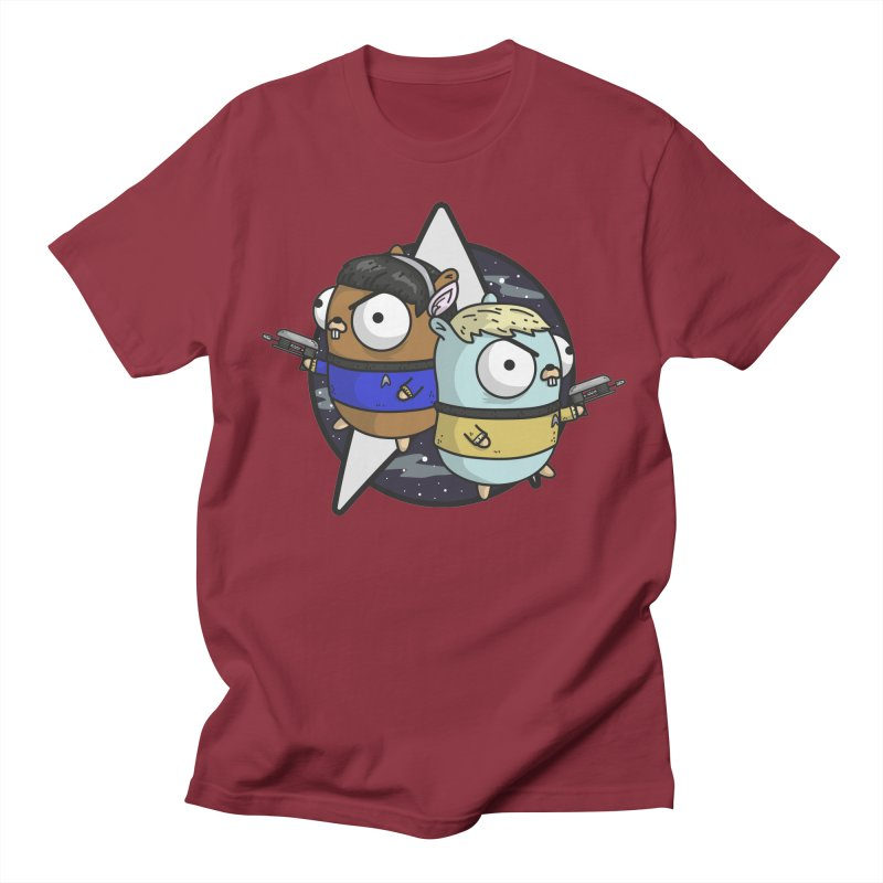 Star Gophers Men's T-Shirt by Women Who Go