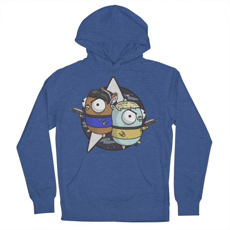 Star Gophers Men's French Terry Pullover Hoody by Women Who Go
