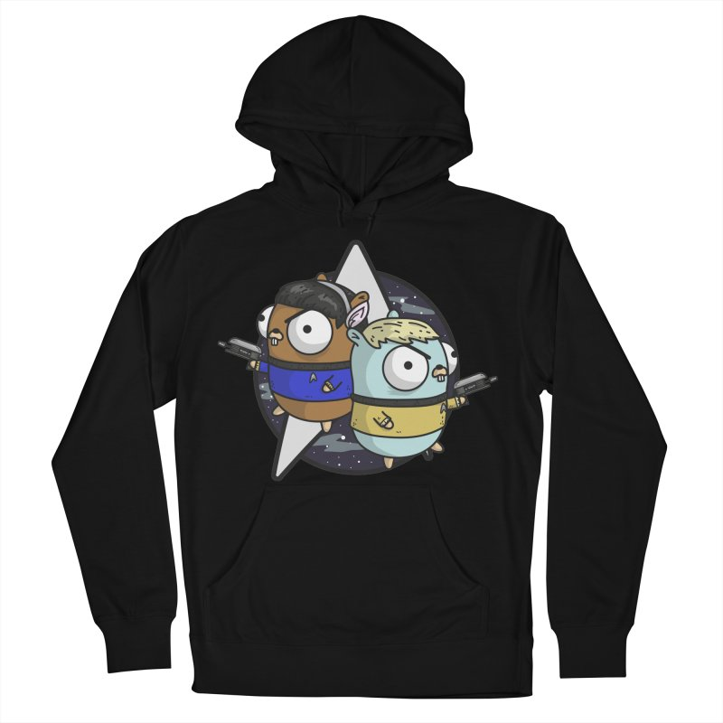 Star Gophers Men's Pullover Hoody by Women Who Go