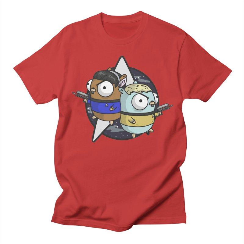 Star Gophers Men's Regular T-Shirt by Women Who Go