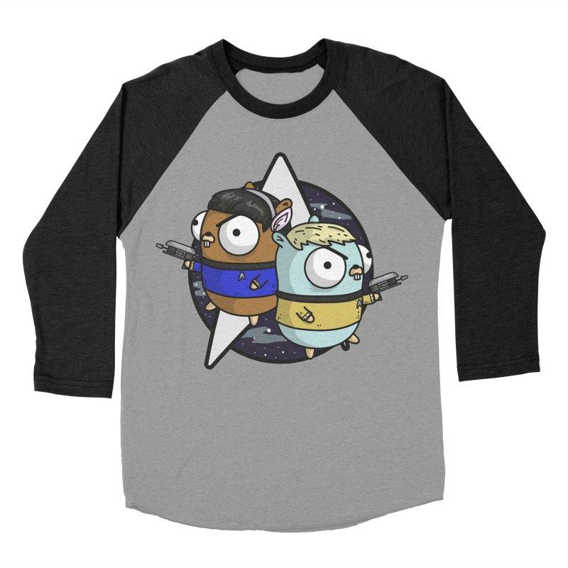Star Gophers Men's Baseball Triblend T-Shirt by Women Who Go