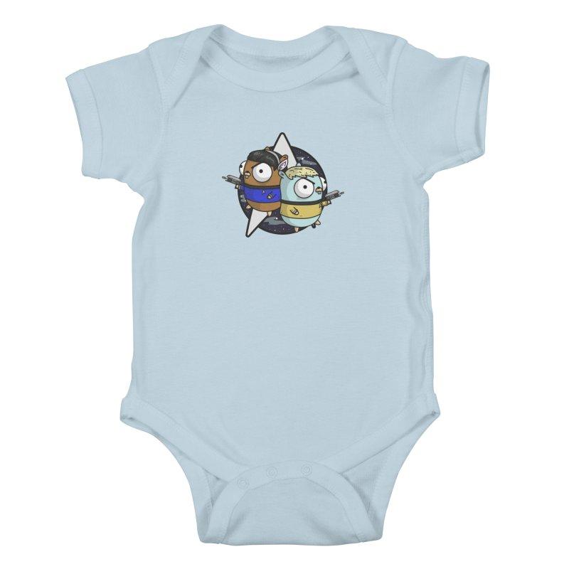 Star Gophers Kids Baby Bodysuit by Women Who Go