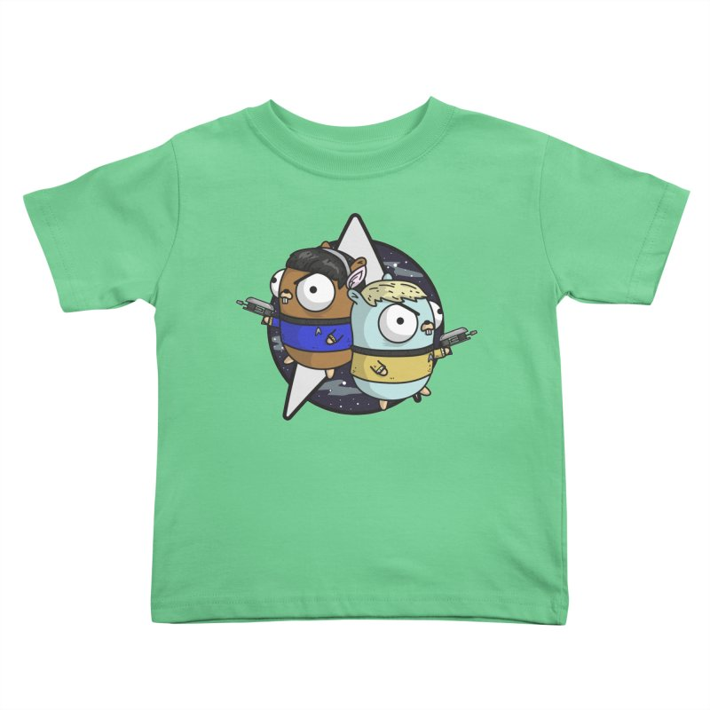 Star Gophers Kids Toddler T-Shirt by Women Who Go